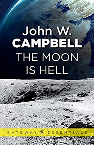 book cover of The Moon Is Hell