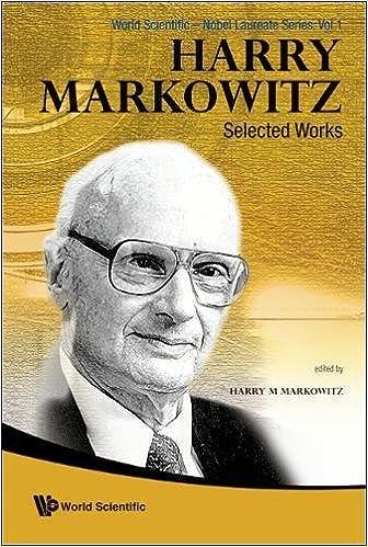 Harry Markowitz: Selected Works (Nobel Laureate)