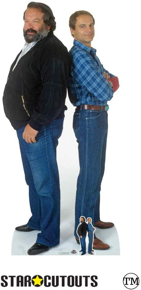 Bud Terrence Double Lifesize Cardboard Cutout for Fans Parties and Events Carlo Pedersoli Mario Girotti Terence Hill Star Cutouts CS797 Spencer