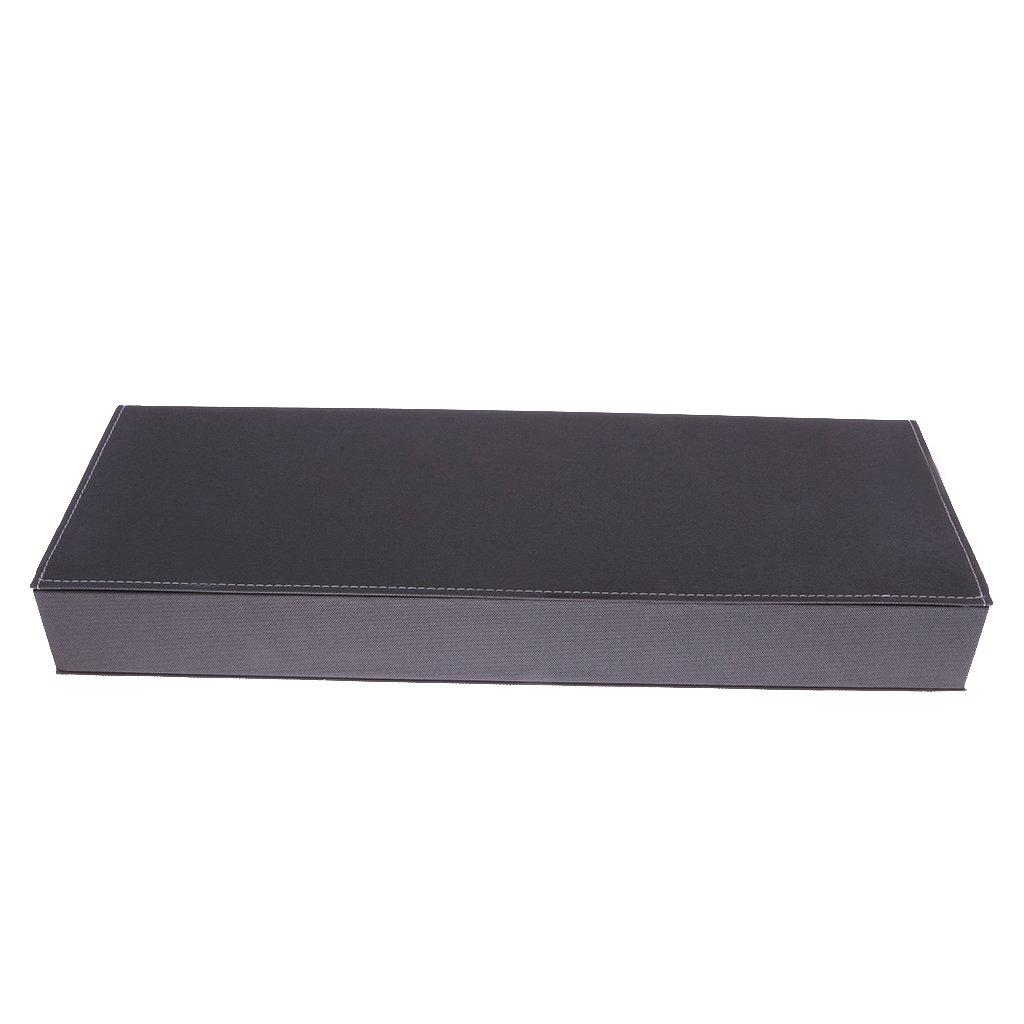 8 Grid hochwertigem Sonnenbrille Gläser Aufbewahrungsbox Schutzspeicher Vitrine Kastenhalter - Orange vnLNC8