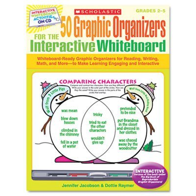 Scholastic 50 Graphic Organizers for the Interactive