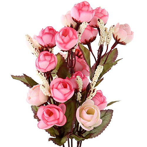 Soledi Artificial Camellia Arrangement Hydrangea