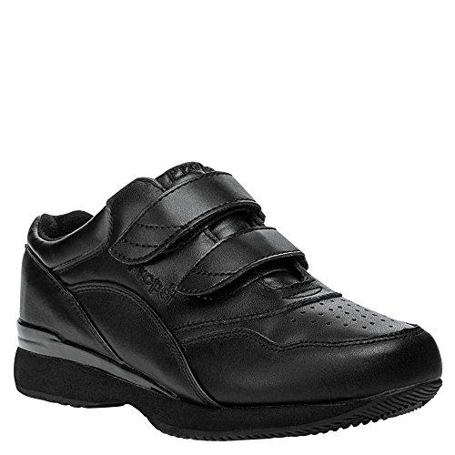 Propét Womens Tour Walker Strap Sneakers Con Marchio Velcro (bianco / Blu)