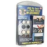 FQTANJU 1 Set Perfect Fit Instant Button, AS Seen On TV Adds An Inch To Any Pants Waist In Seconds