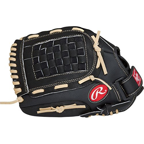 Rawlings RSB Series Baseball Glove, Right Hand, Slow Pitch, Basket-Web, 13 Inch