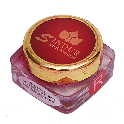 Keya Seth Aromatherapy,100% Natural Sindoor Dust Red 3gm