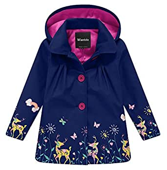 Amazon.com: Wantdo - Chaqueta impermeable con capucha para ...