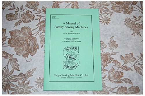 Complete Manual for Singer Sewing Machine & Attachment. 15, 66, 99, 221, 301,
