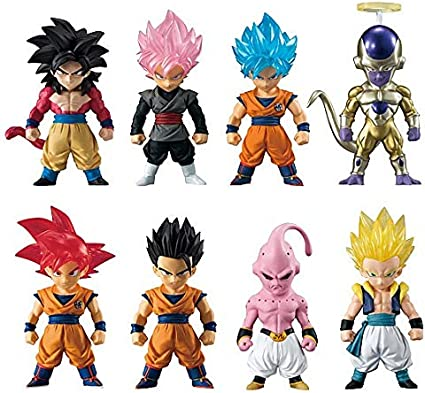 Dragon Ball Bandai Adverge 8 Complete Set 6 Pcs US Authentic Goku Vegeta