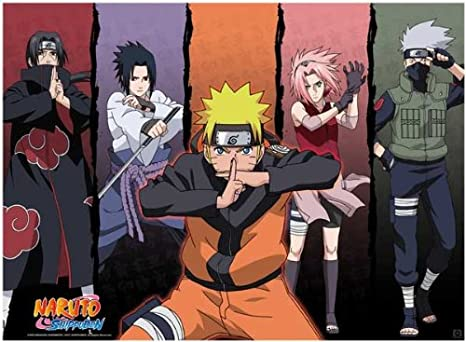 Amazon.com: Naruto Shippuden Cartel Shippuden Grupo 1: Home ...