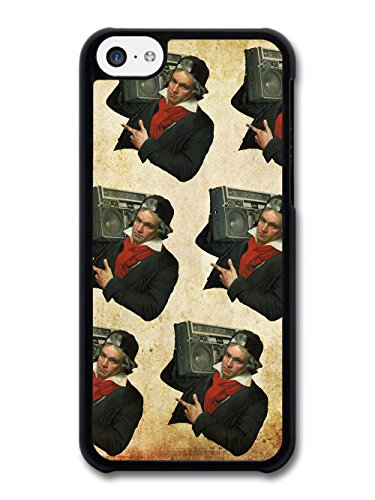 Beethoven With Boombox Vintage Pattern case for iPhone 5C
