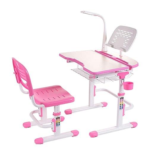 Tangyu Mesa de Estudio para niños con Silla postural pupitre ...
