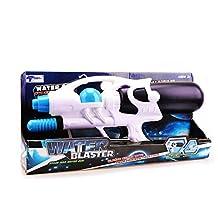 Super Soaker Kids Water Gun-Wishtime BN17014(2017 New Design)Most Powerful Water Gun for Adult Kids Children Summer Outdoor Water Shooting Game 3+Years Toys