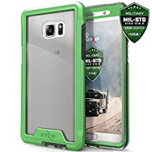 Samsung Galaxy S7 Edge Case, Zizo [ION Series] Crystal Clear [Military Grade] for Galaxy S7 Edge