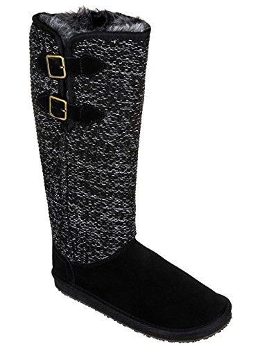 Roxy True Boot Boots Women Black Tana IIzHOr