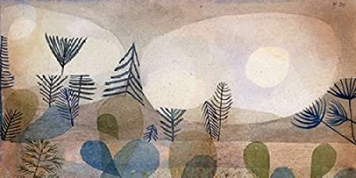 Posterazzi Oceanic Landscape Poster Print by Paul Klee (24 x 48)