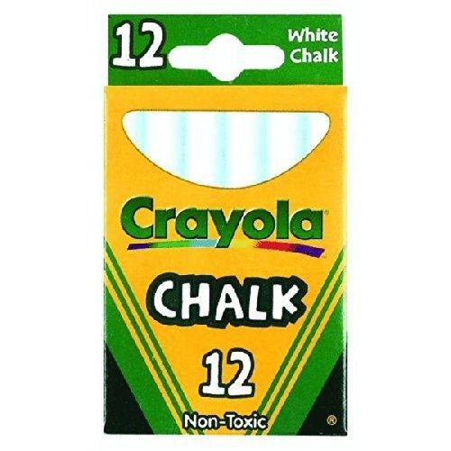 Crayola 51–0320ホワイトチョーク12カウント