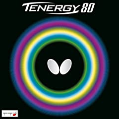 Features • Tenergy 80 is the ideal balance between spin and speed • Even faster than Tenergy 05 and offering the same speed as Tenergy 25 • Tenergy 80 enables all-round topspin play, attack and counterattack regardless of your playing style •...