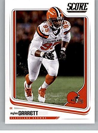 Amazon.com  2018 Score  75 Myles Garrett Cleveland Browns Football ... e98c4ae98