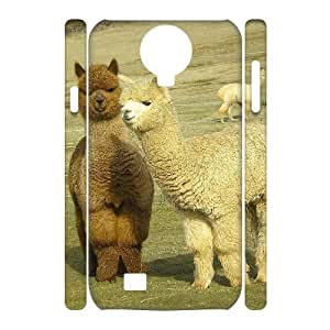 QSWHXN Cell phone Cases Lama Pacos Hard 3D Case For Samsung Galaxy S4 i9500