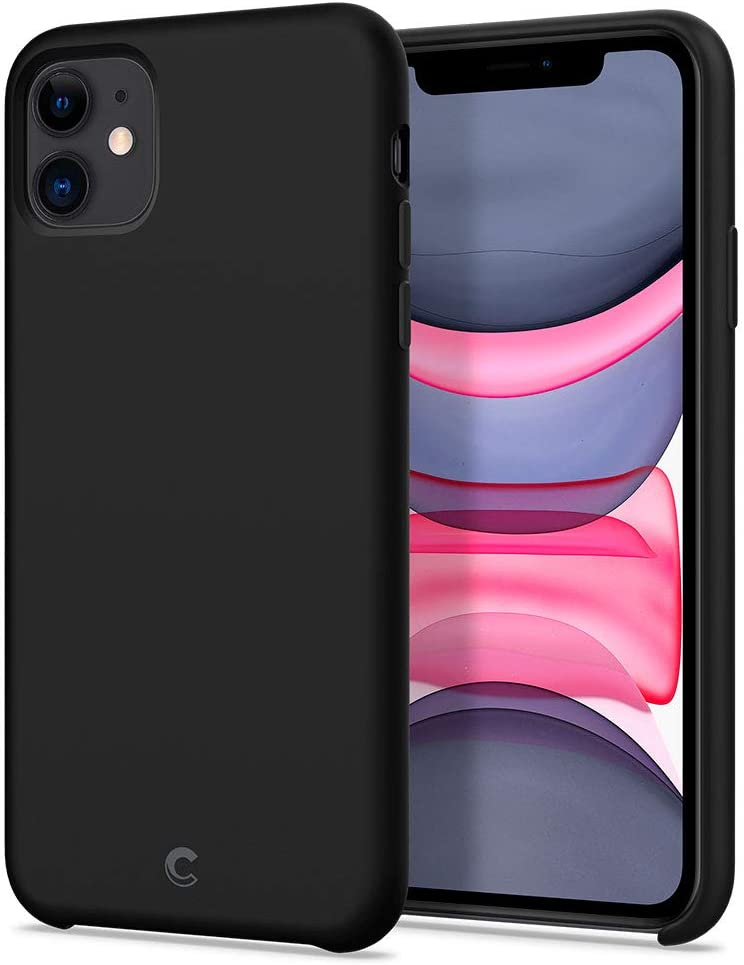 CYRILL Silicone Designed for Apple iPhone 11 Case (2019) - Black