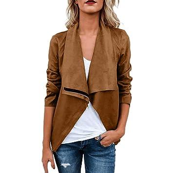 cf200013a655b Amazon.com : Clearance! HOSOME Women Jacket Coat Ladies Retro Rivet ...
