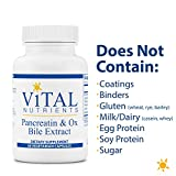 Vital Nutrients - Pancreatin and Ox Bile Extract