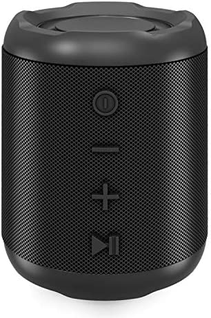 [Upgraded] Bluetooth Speakers,MusiBaby Bluetooth Speaker 5.0,Outdoor,Waterproof,Wireless Speaker,Dual Pairing,Loud Stereo Sound,Booming Bass,25h Playtime for Camping,Beach,Pool,Shower(Black)