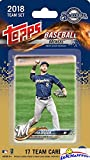 Milwaukee Brewers 2018 Topps Baseball EXCLUSIVE Special Limited Edition 17 Card Complete Team Set with Ryan Braun, Chase Anderson & Many More Stars & Rookies! Shipped in Bubble Mailer! WOWZZER!