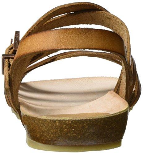 Fred de la Bretoniere Fred de La Bretoniere Sandale - Tira de tobillo Mujer Marrón (Cognac)