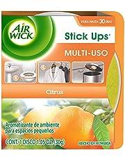 Air Wick® Stick Ups®, Aromatizante De Ambiente Multiusos para espacios pequeños, Aroma Citrus, 30 g