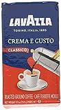 Lavazza Italian ''Crema e Gusto'' Ground Espresso (1 case = 20 x 8.8 oz bricks)