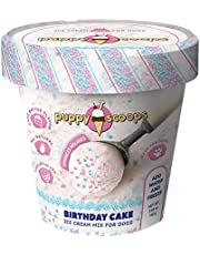 Puppy Scoops Ice Cream Mix for Dogs: Birthday Cake - Add Water and Freeze at Home!