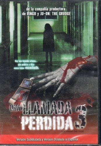 UNA Llamada Perdida 3 One Missed Call:final [Ntsc/region 1 and 4 Dvd. Import - Latin America] .