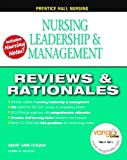 img - for Prentice Hall Nursing Reviews and Rationales: Nursing Leadership and Management by Hogan MaryAnn Nickitas Donna M. (2008-07-26) Paperback book / textbook / text book