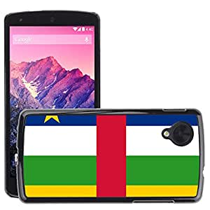 GoGoMobile Slim Protector Hard Shell Cover Case // V00001031 central african republic National // LG Nexus 5