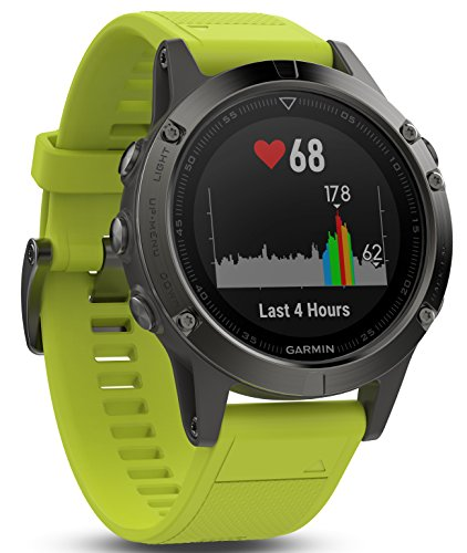 Garmin Fenix Slate Gray Yellow