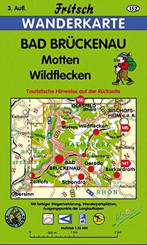 Bad Brückenau - Motten - Wildflecken (Fritsch Wanderkarten 1:35000)