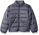 The Children's Place Big Boys' His Puffer Jacket, Storm, M (7/8)
