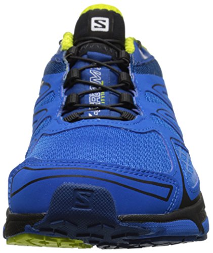 SalomonX-Scream 3D - Scarpe Running Uomo Blu (Azul (Union Blue / Gentiane / Gecko Green))