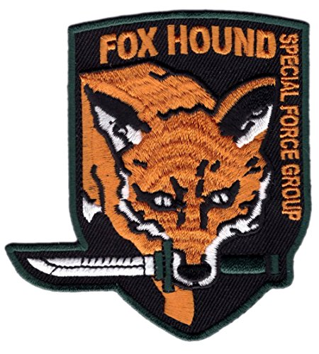 [Fox Hound Special Force Big Boss Snake Metal Gear Costume Patch by Titan One] (Metal Gear Solid 1 Snake Costume)