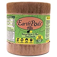 EarthPods Indoor & Outdoor Organic Plant Food Fertilizer Capsule Spikes [Easy + Fast + NO Dirty Hands] Root & Leaf Growth Stimulator + Rich Concentrated Garden Humus Soil & Beneficial Fungi / Bacteria