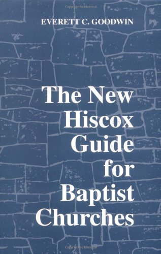 The New Hiscox Guide for Baptist Churches