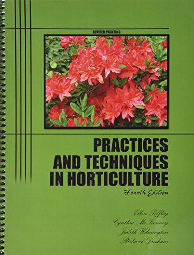 Practices and Techniques in Horticulture