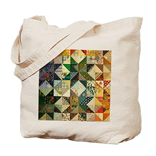 CafePress–patchwk _ tile2–Gamuza de bolsa de lona bolsa, bolsa de la compra