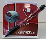NFL Officially Licensed Arizona Cardinals Stationery Desk Caddy with Matching Ballpoint Pen
