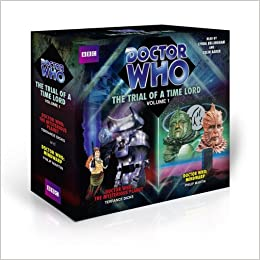 Doctor Who The Trial Of A Time Lord Vol 1 Dr Amazoncouk Philip Martin Terrance Dicks DicksRobert HolmesPhilip Colin Baker