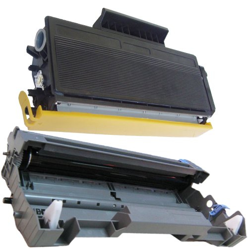 (1 Drum + 1 Toner) Inktoneram® Replacement toner cartridges & drum for Brother TN580 TN550 DR520 Toner Cartridges & Drum replacement for Brother DR-520 TN-580 TN-550 Set DCP-8060 DCP-8065 DCP-8065DN HL-5240 HL-5250 HL-5250DN HL-5250DNT HL-5280 HL-5280DW