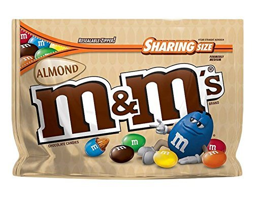 M&M New Flavor Chocolate Candy Sharing Size Pack -