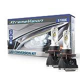 XtremeVision V3 48W 7,200LM LED Bulb - H13/9008 Dual Beam LED Headlight Kit - 5700K Zes LED - 2019 Model